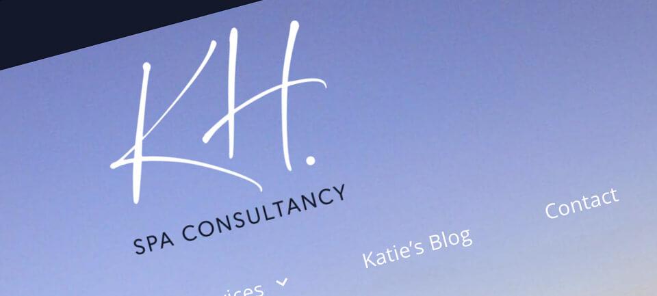 KH Spa consultancy website case study