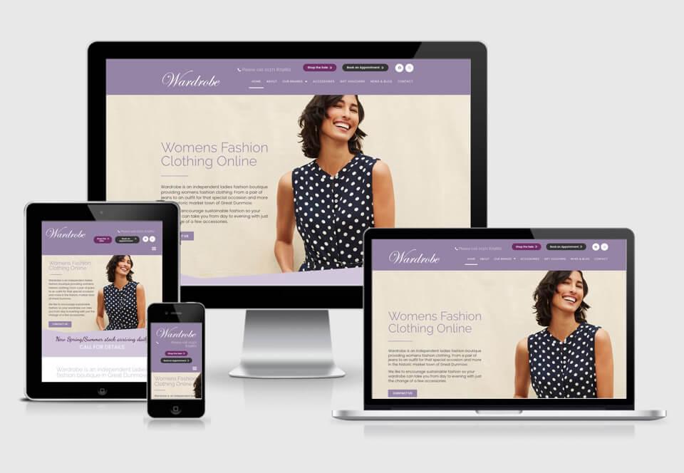 Wardrobe online shop case study responsive